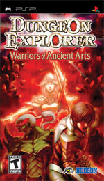 Dungeon Explorer: Warriors of Ancient Arts box art