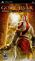 God of War: Chains of Olympus box art