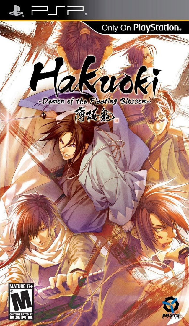 Hakuoki: Demon of the Fleeting Blossom Box Art
