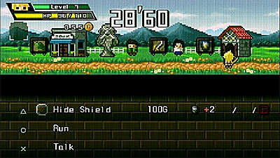 Half-Minute Hero screenshot