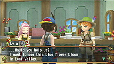 Harvest Moon: Hero of Leaf Valley screenshot