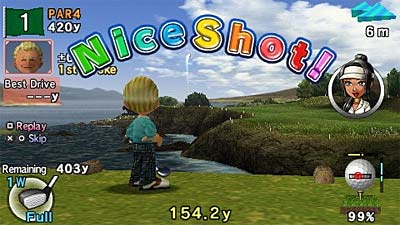 Hot Shots Golf: Open Tee 2 screenshot