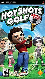 Hot Shots Golf: Open Tee 2 box art