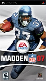 Madden NFL 07 PSP box art