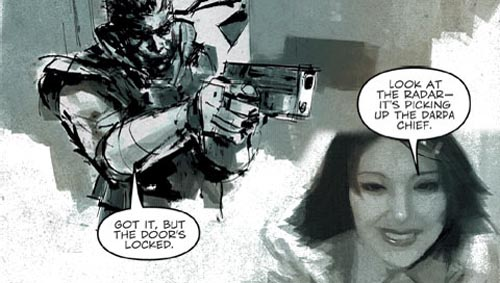 Metal Gear Solid: Digital Graphic Novel screenshot