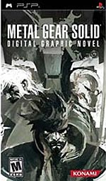Metal Gear Solid: Digital Graphic Novel box art