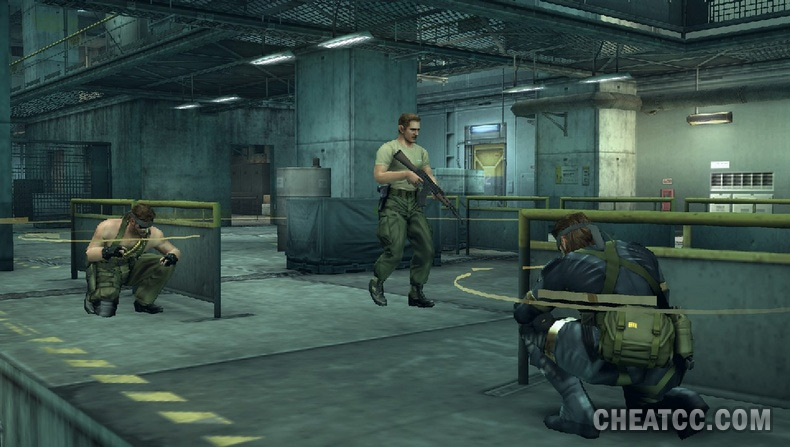 What is the emulation of MGS 2, 3 and Peace Walker like on