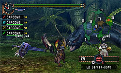 Monster Hunter Freedom Unite screenshot