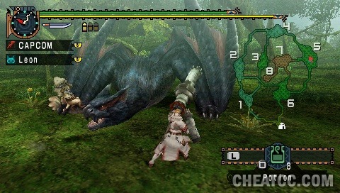 Monster hunter freedom unite review for playstation portable psp monster hunter freedom unite screenshot click to enlarge forumfinder Gallery