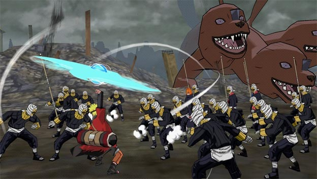 Naruto Shippuden: Ultimate Ninja Impact Screenshot