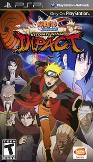 Naruto Shippuden: Ultimate Ninja Impact Box Art