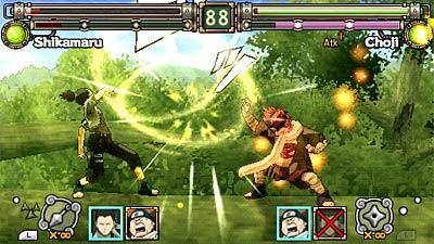 Naruto: Ultimate Ninja Heroes screenshot