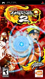 Naruto: Ultimate Ninja Heroes 2: The Phantom Fortress box art