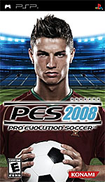 Pro Evolution Soccer 2008 box art