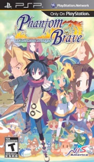 Phantom Brave: The Hermuda Triangle Box Art