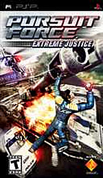 Pursuit Force: Extreme Justice box art