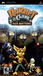 Ratchet and Clank: Size Matters box art