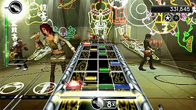 Rock Band Unplugged screenshot
