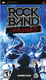 Rock Band Unplugged box art
