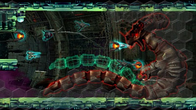 R-Type Command screenshot