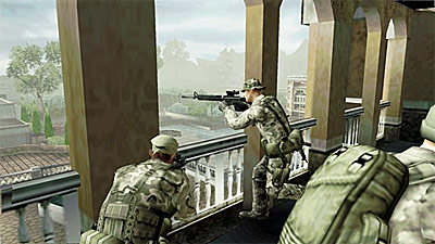 SOCOM: U.S. Navy SEALs Fireteam Bravo 3 screenshot