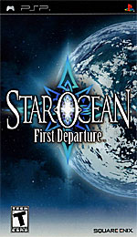 Star Ocean: First Departure box art