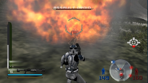 Star Wars Battlefront 2 Review Preview For The Sony Playstation Portable Psp