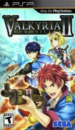 Valkyria Chronicles II box art