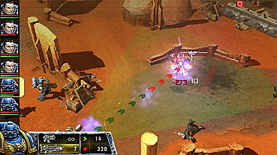 Warhammer 40,000: Squad Command screenshot