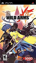 Wild ARMs XF box art