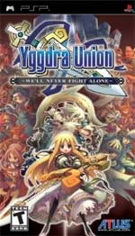 Yggdra Union: We'll Never Fight Alone box art