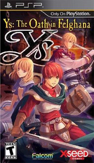 Ys: Oath in Felghana Box Art