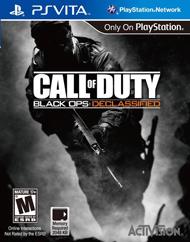 Call of Duty: Black Ops Declassified Box Art