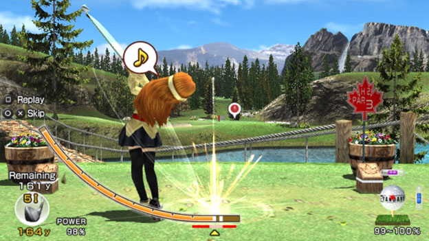Hot Shots Golf: World Invitational Screenshot