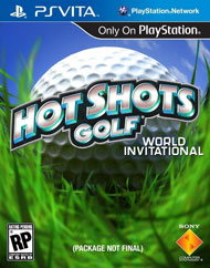 Hot Shots Golf: World Invitational Box Art