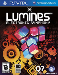 Lumines Electronic Symphony Box Art
