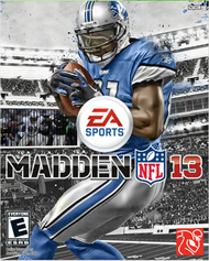Madden NFL 13 Box Art