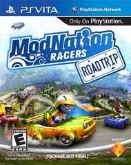 ModNation Racers: Road Trip Box Art