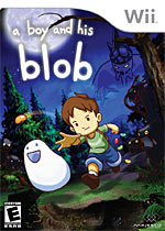 A Boy and His Blob box art