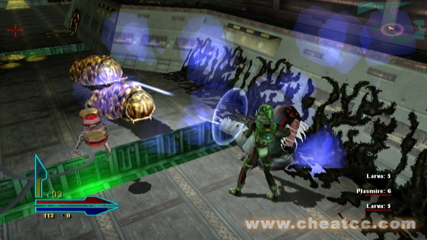 Alien syndrome review for the nintendo wii for Alien syndrome