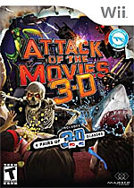 Attack of the Movies 3D box art