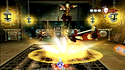 Avatar - The Last Airbender: Into the Inferno screenshot