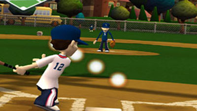 Backyard Baseball '09 screenshot - Backyard Baseball '09 Review For PlayStation 2 (PS2)