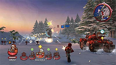 Battalion Wars 2 screenshot