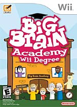 Big Brain Academy: Wii Degree box art