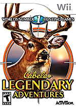 Cabela's Legendary Adventures box art