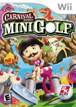 Carnival Games: Mini-Golf box art