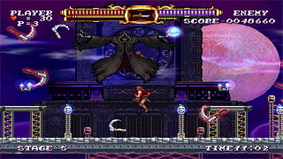 Castlevania: The Adventure ReBirth screenshot