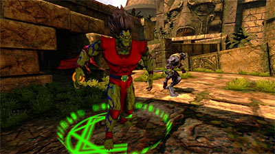 Chaotic: Shadow Warriors screenshot