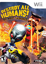 Destroy all Humans! Big Willy Unleashed box art